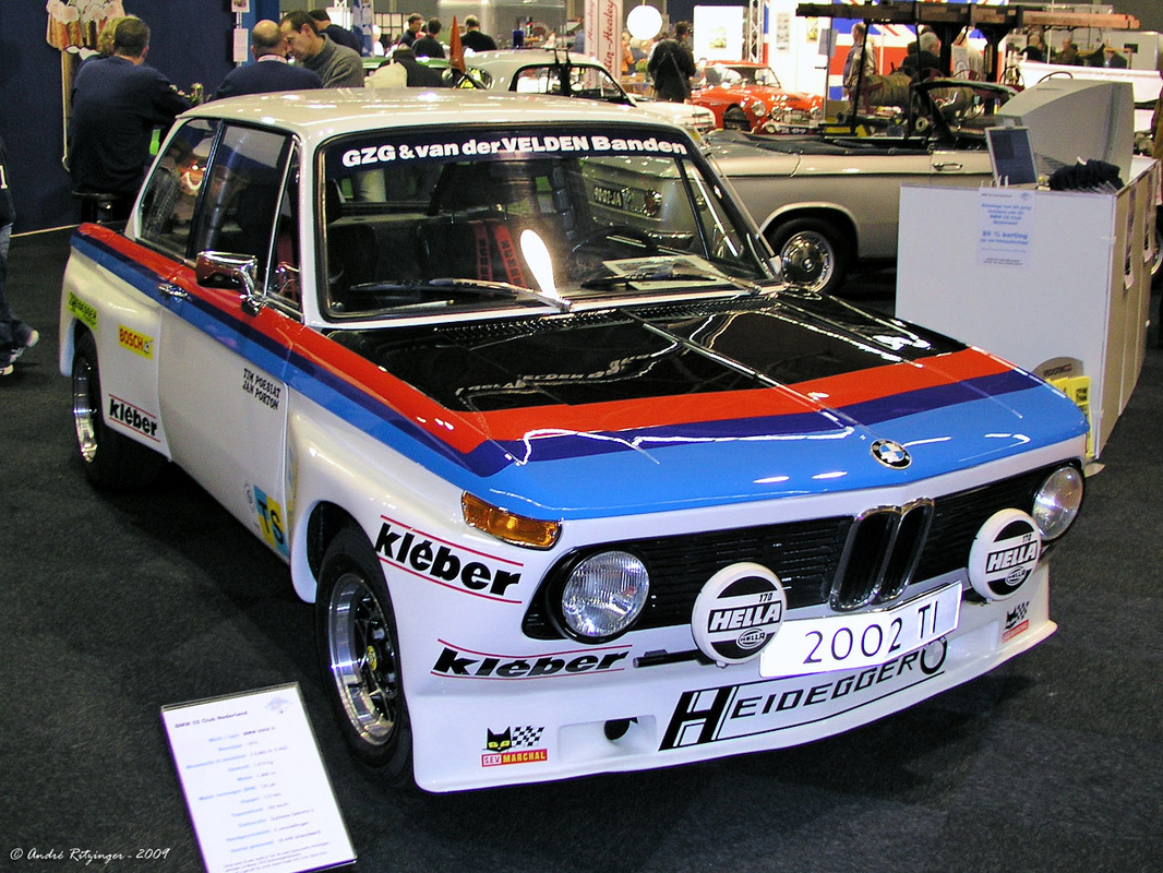 Bmw 2002 Winner Gts Class Le Mans 1975 Mini Car